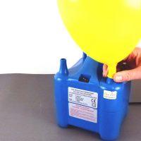 Elektrische Luftballonpumpe ; Ballons aufblasen ; Ballon Pumpe