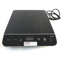 Induktions-Kochplatte zur Speisenzubereitung oder zum Aufwärmen