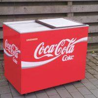 Coca-Cola Getränkekühltruhe
