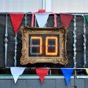 Geburtstagsschilder ; Zahlenschilder ; 30 / 40 / 50 / 70 und programmierbar LED 0-99